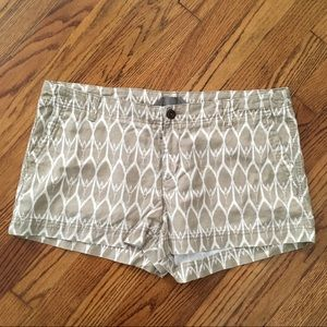 The North Face patterned shorts